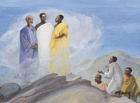 TRANSFIGURATION... This Week at UCCW