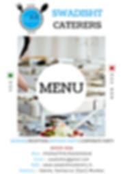 swadisht caterers menu 1