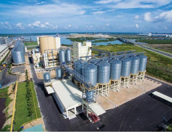 Grain Terminal at Expansion Ba Ria Vung Tau