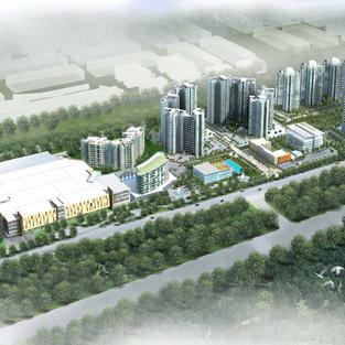 Mix-Use Development, VSIP, Binh Duong Province, Vietnam