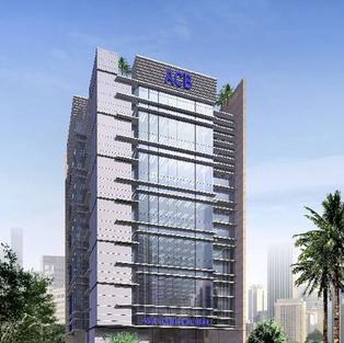 ACB 6 Storey Bank Office at 2/20 Cao Thang, Dist 3, HCM City