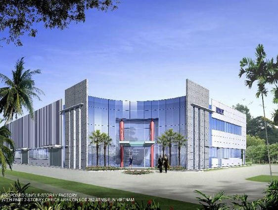 Edson Factory Development in VSIP