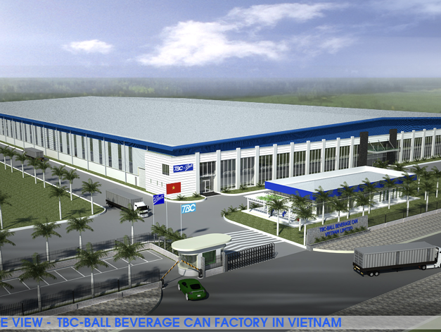 TBC-Ball Beverage Can Factory in Vietnam