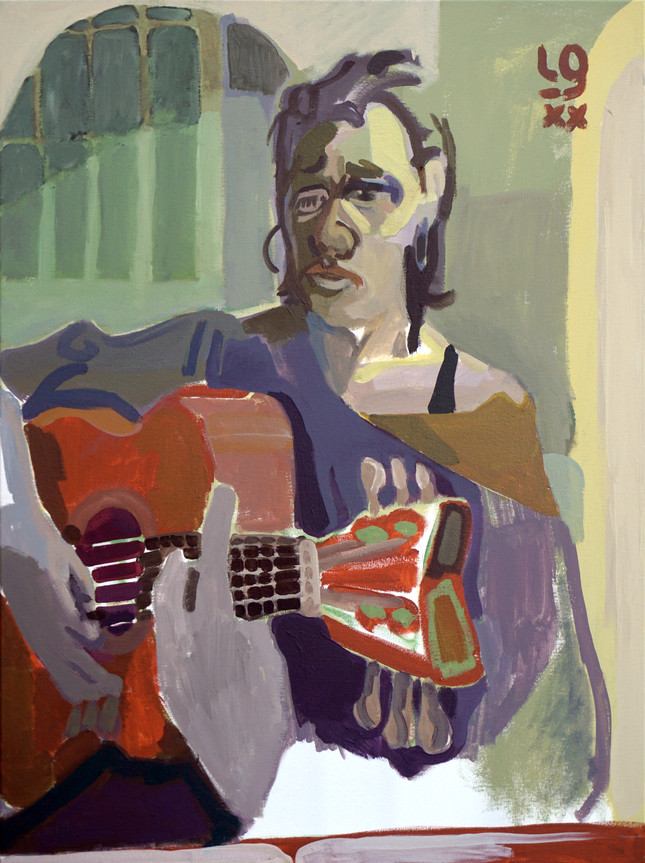 Guitarra dans le grand salon