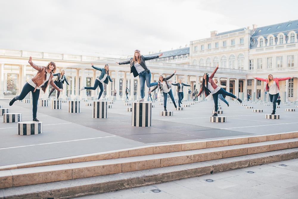 Seance photo EVJF Palais Royal Paris