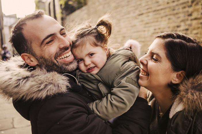 Séance photo famille à Londres
