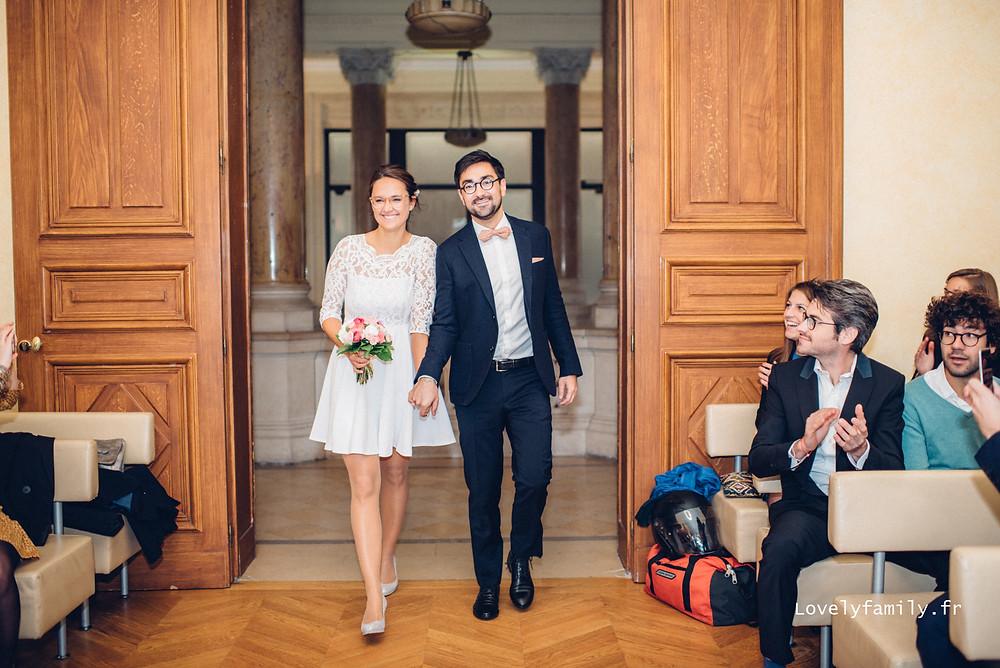 Photographe Mariage Paris - mairie 12e arrondissement