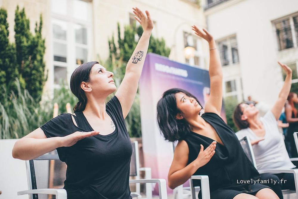 Photographe yoga Paris