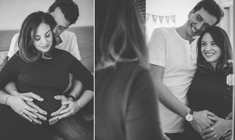 photographe grossesse à domicile Paris