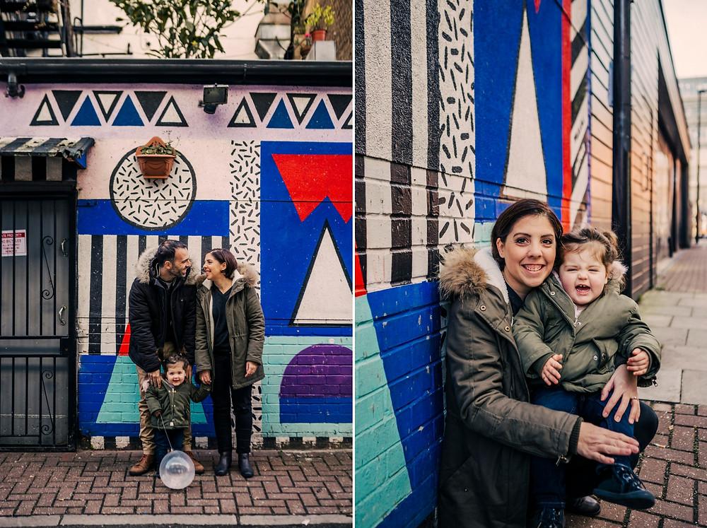 seance photo famille à Londres