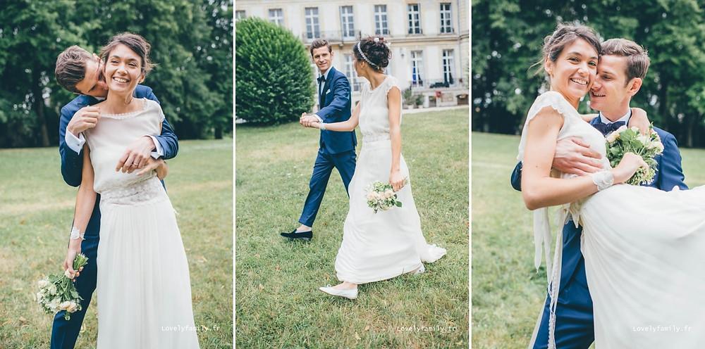 photographe mariage chateau de santeny