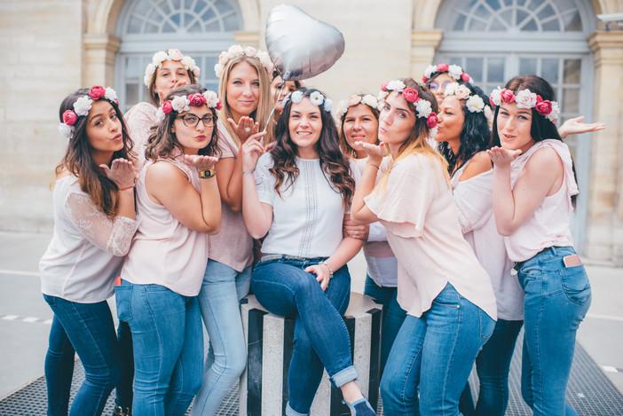 Séance photo EVJF à Palais-Royal