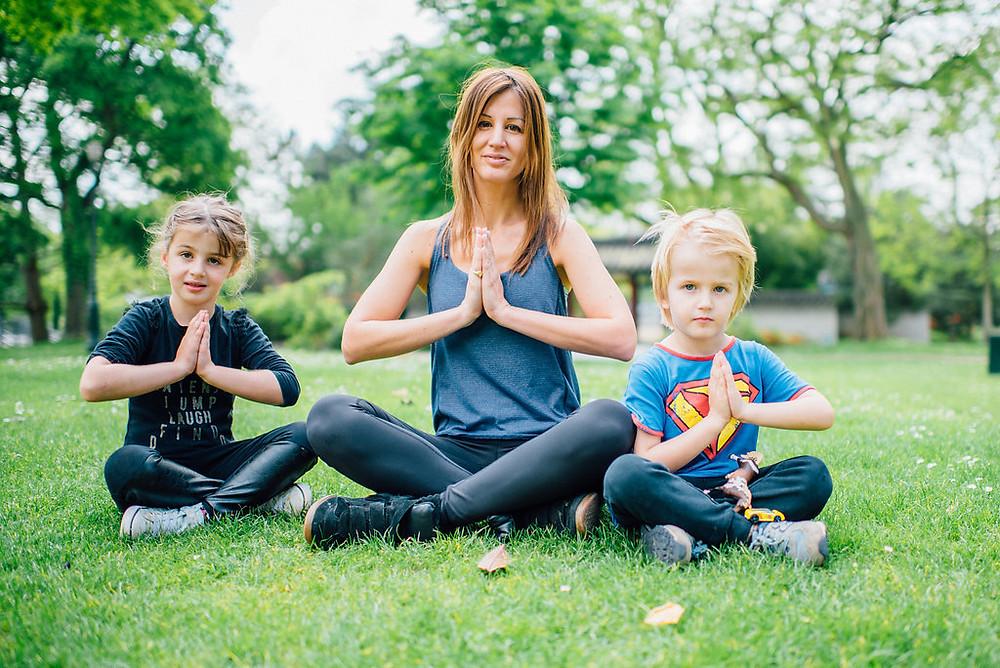 yoga pour enfants Paris