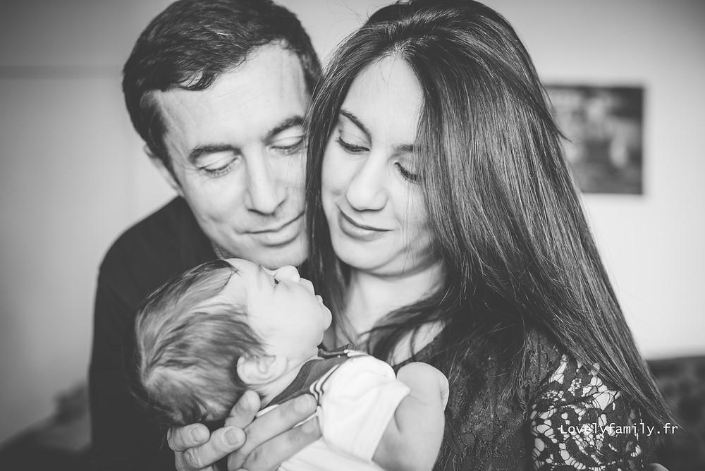Séance photo naissance paris