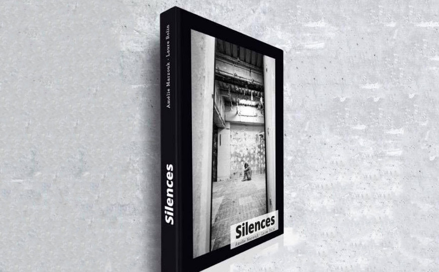 """Livre """"Silences"""" Amélie Marzouk - Laure Rolin"""
