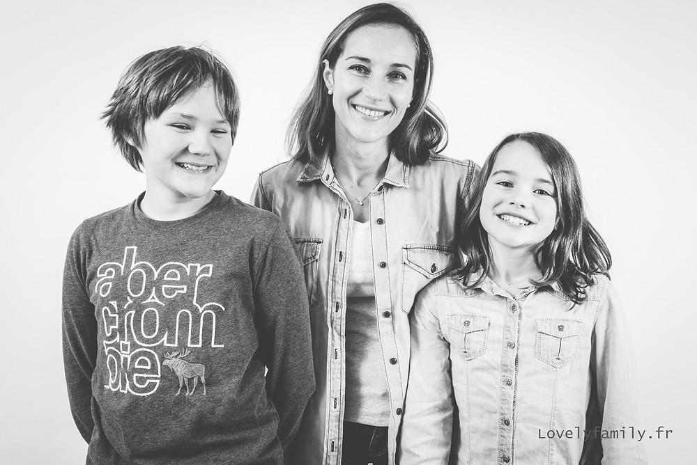 Séance photo famille studio