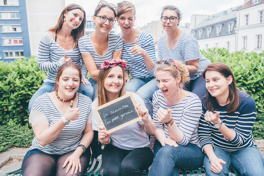 Organiser un EVJF à Paris