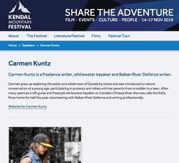 Kendal Mountian Festival - presenter
