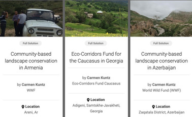 IUCN's Panorama platform published ECF projects