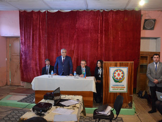 AZERBAIJAN | Gonaghkend Tebiet Dostlari Conservation Agreement Signing Ceremony