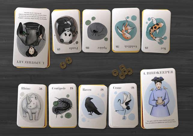 Karakterkort og dyrekort