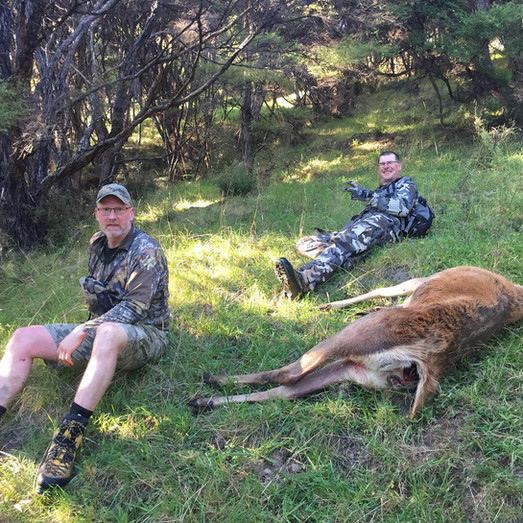 Reality of hunting is the haul