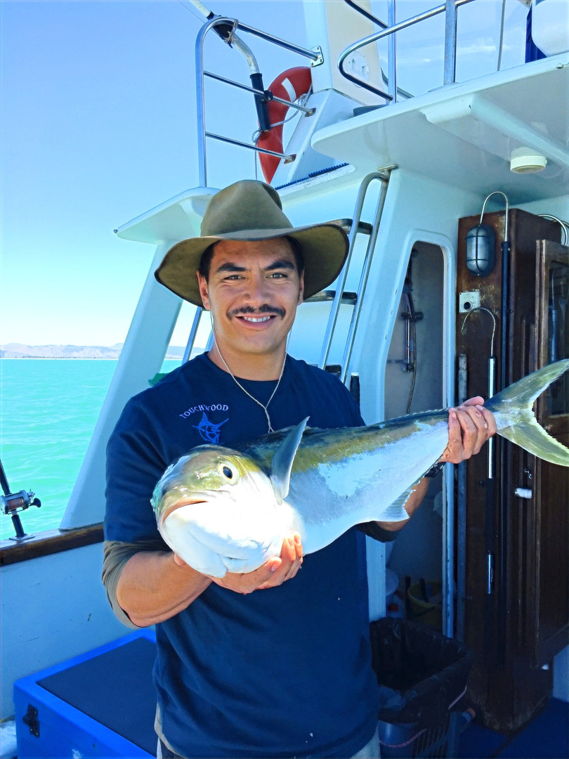 Chartered fishing tours