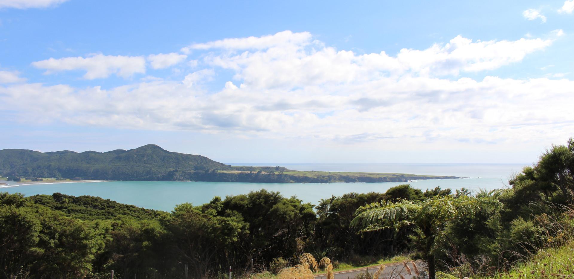 View at Hicks Bay