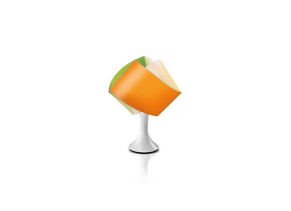 """Gemmy Table"", Multicolor - Slamp"