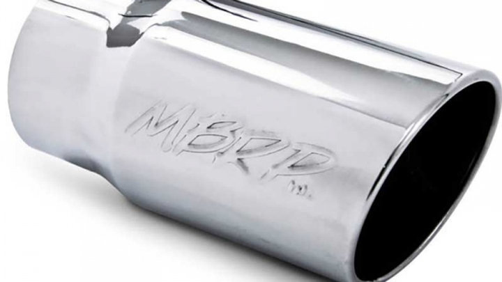 "MBRP 5"" inlet to 6"" outlet exhaust tip"
