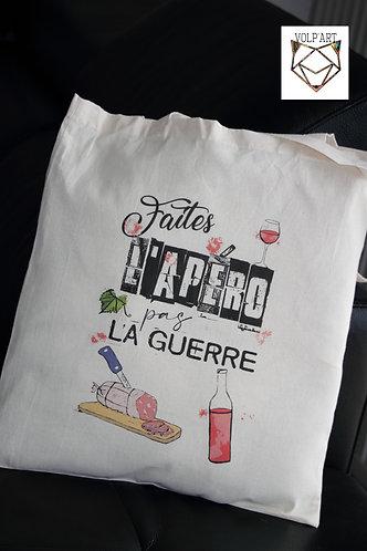 Tote Bag Apéro - 38 x 42 cm