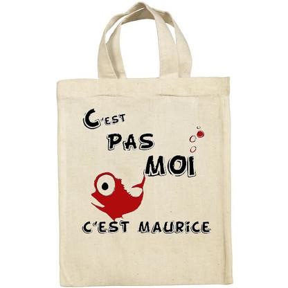 Tee-shirt coton, C'est pas moi, c'est Maurice