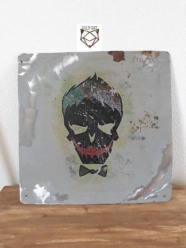 Plaque de décoration en métal Joker 1