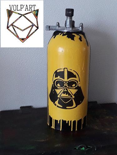 Pied de lampe style industriel dark vador