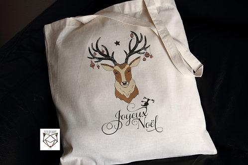 Tote Bag Noël.13 - 38 x 42 cm