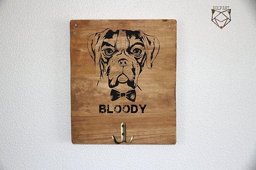 Accroche laisses/colliers mural Boxer 9
