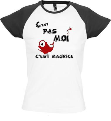 Tee-shirt C'est pas moi, c'est Maurice