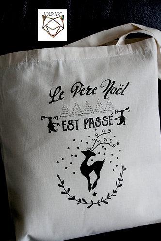 Tote Bag Noël.11 - 38 x 42 cm