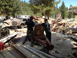 milling log for project