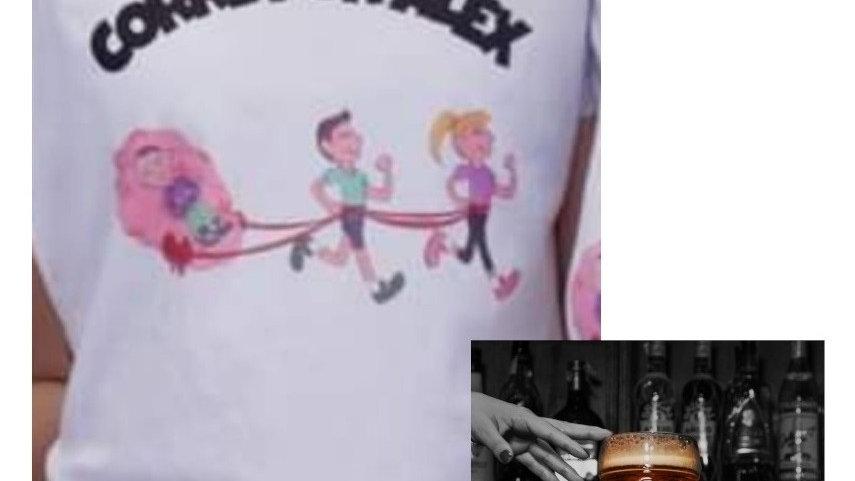 Pack CD + Camiseta Corre por Alex (incluye ayuda Alex)