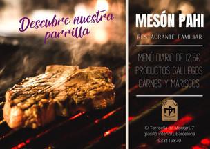 Restaurante familiar Mesón Pahi