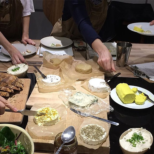 Nut Cheese MasterClass at MADE IN HACKNEY