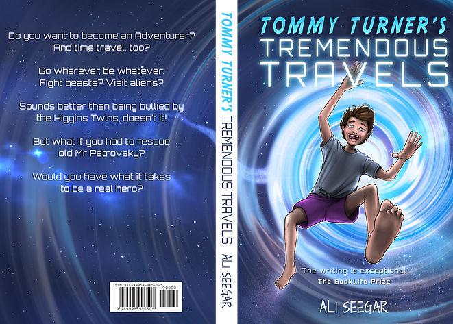 Tommy Turner 1 - Front Cover - 2019 - La