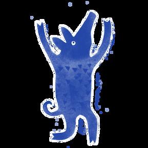 blue piggie running.png