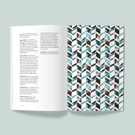 End papers for Structo magazine, issue 20
