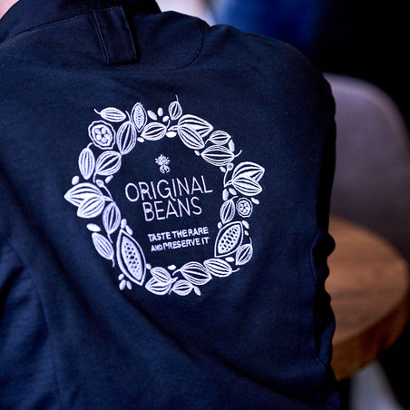 Original Beans Chef's Jacket Embroidery