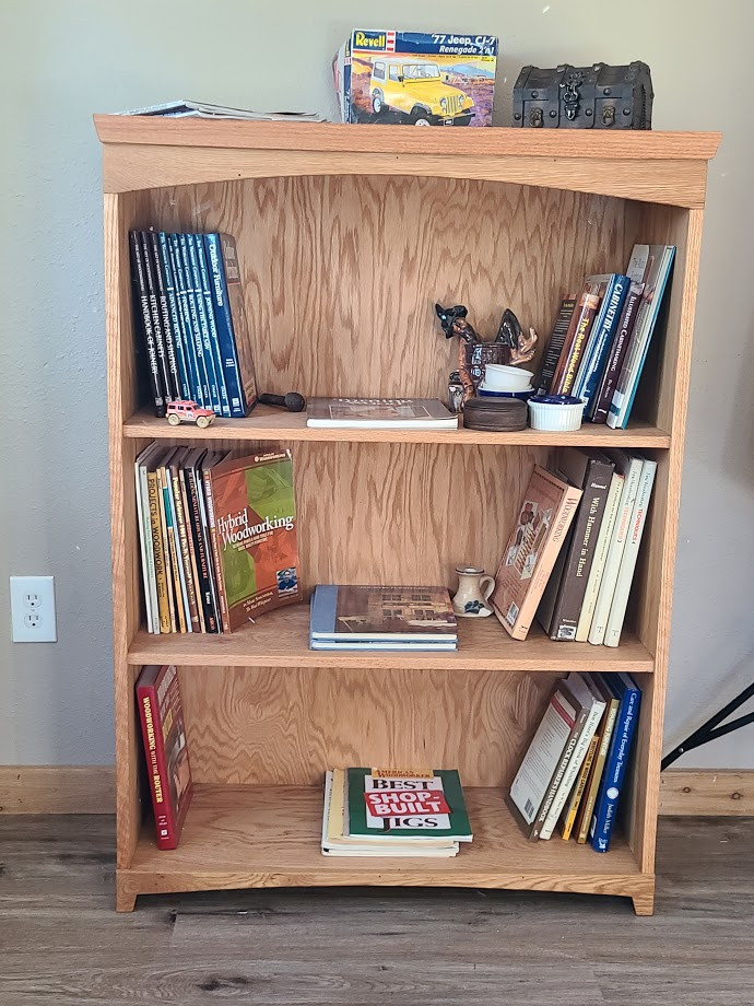 Shaker style bookshelf
