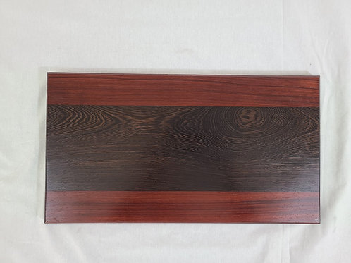 Exotic Wenge and Padauk Serving Board