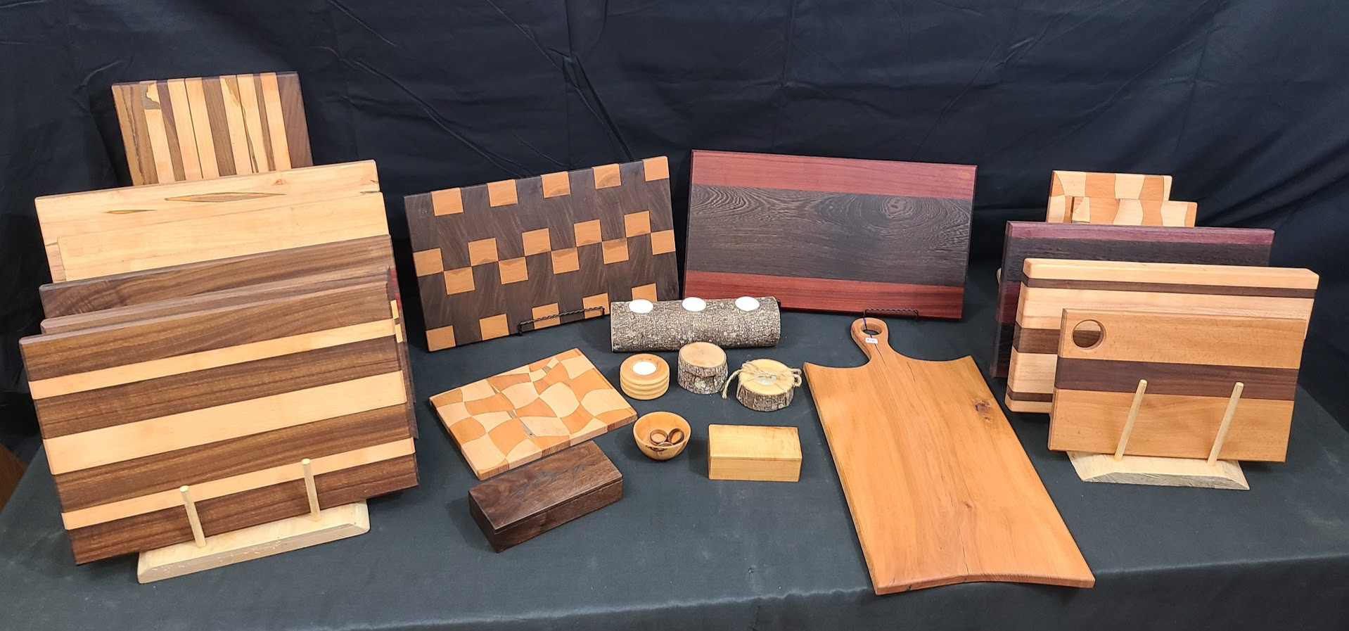 cutting boards and small goods