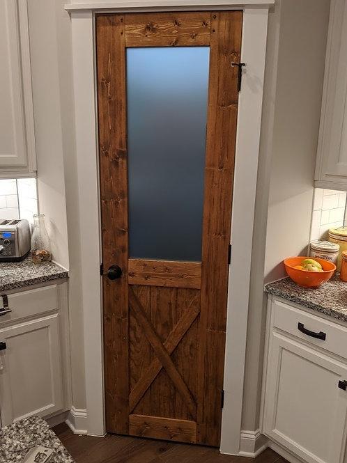Barn Door Style Pantry or Laundry Door